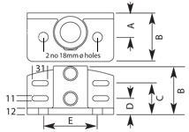 C18 Diagram